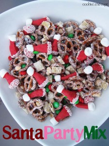 Cookies and Cups Santa Mix