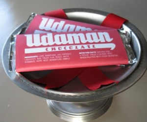 udaman candy bar labels